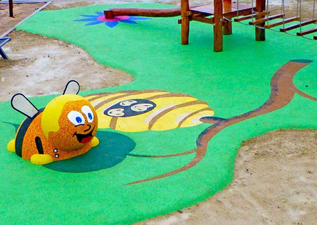 54-sol souple-abeille-3d