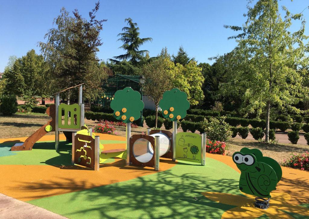 Aménagement d'une aire de jeux parc moselle 57 (1)