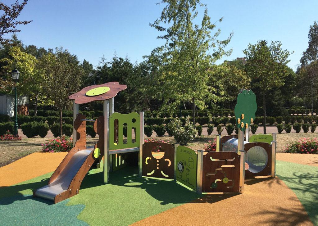 Aménagement d'une aire de jeux parc moselle 57 (2)