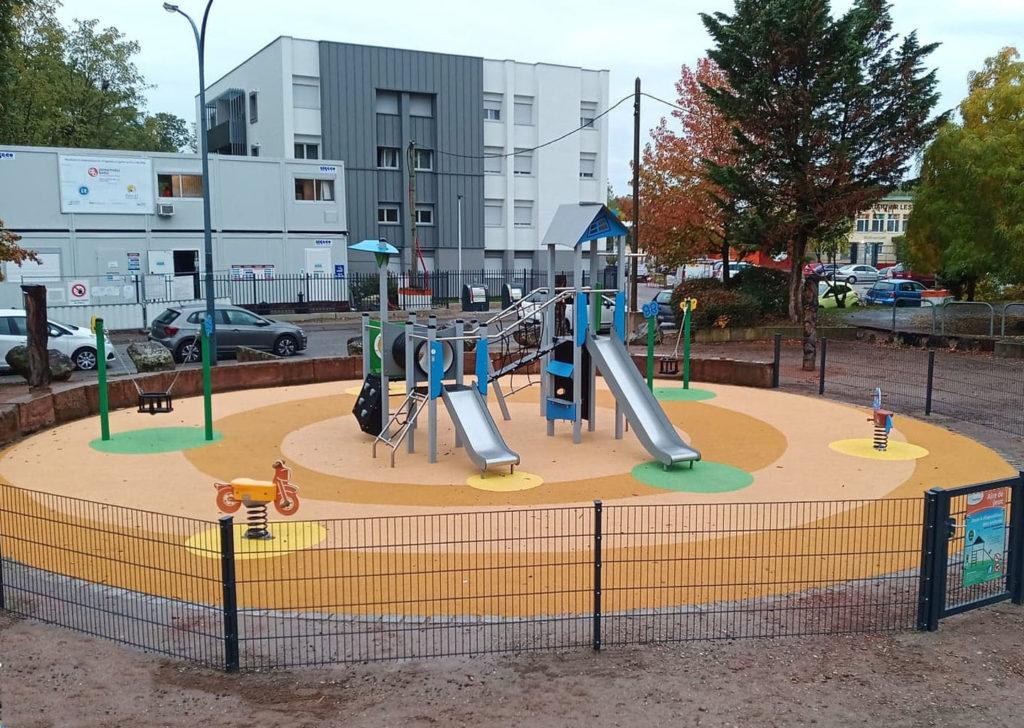 67 aménagement d'une aire de jeux dans le Bas Rhin